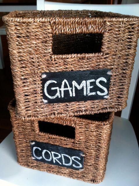 basicallybrandy DIY Chalkboard Basket Labels & basicallybrandy: DIY Chalkboard Basket Labels | Craft Ideas ...