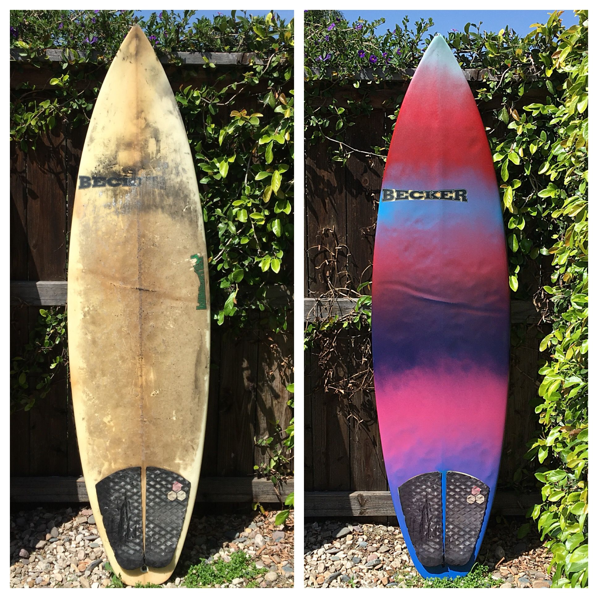 Take Your Old Surfboard And Make It New Again Recycle The