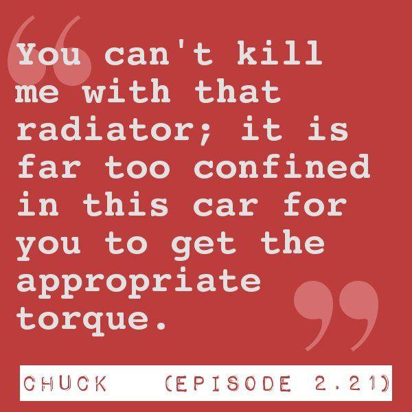 "Chuck Episode 2.21 ""Chuck Versus the Colonel"""