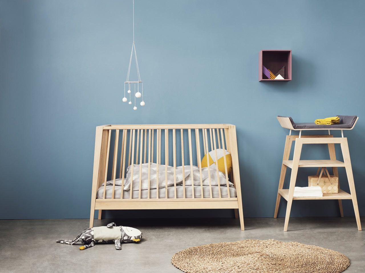 Nubie Leander Linea Cot 4 Design Milk Baby Room Wall Decals Furniture Nz Baby Furniture