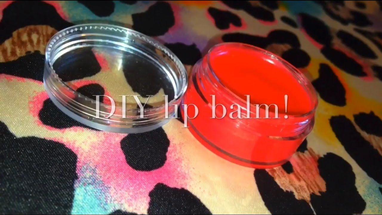 Diy lip balm without beeswax diy lips the balm diy
