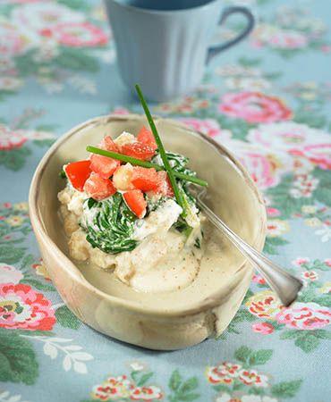 Creamed spinach (vegan)