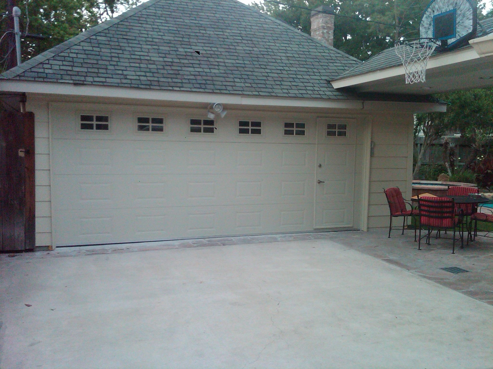 Garage door repairs by s amp t garage doors of northern virginia - Garage Doors Residential Walk Thru Garage1