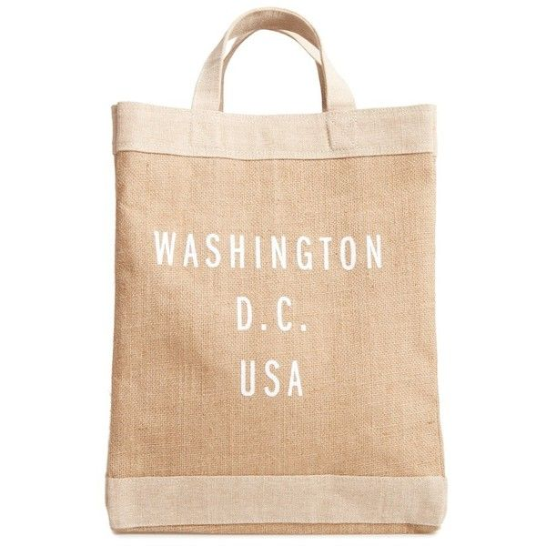 Women S Apolis Washington D C Simple Market Bag 32 Liked On Polyvore Featuring