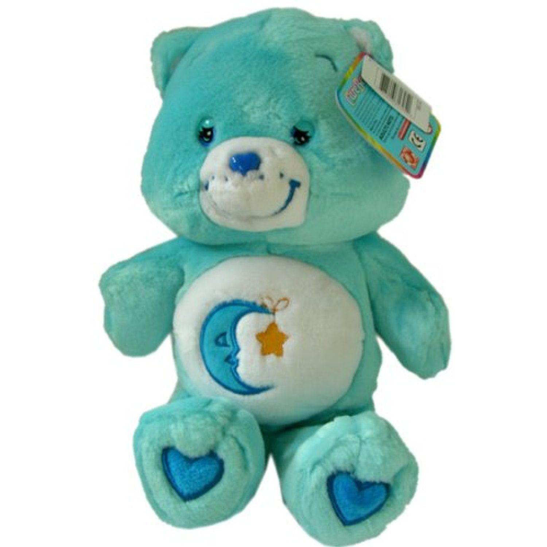 Message Recorder Stuffed Animals, Care Bears Stuffed Animal Bedtime Bear 14 Plush Doll By Playalong Want To Know More Cli Care Bears Stuffed Animals Care Bears Plush Bear Stuffed Animal