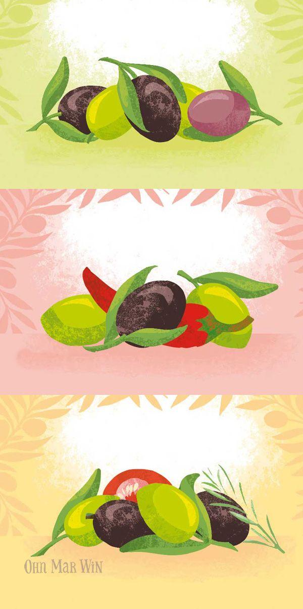 Olive Branch olives & tapendes. Ohn Mar Win