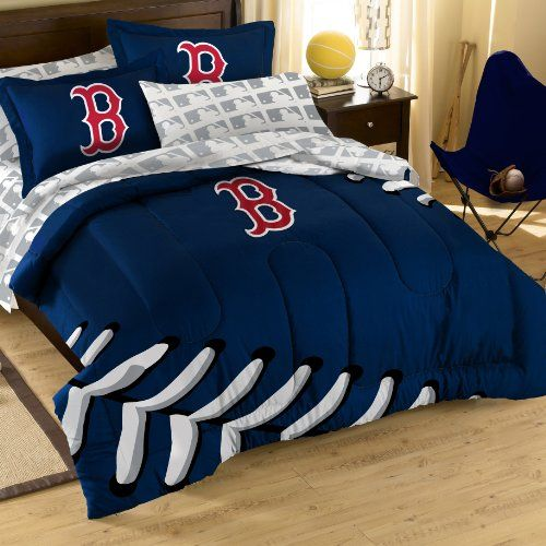 Found It At Wayfair   MLB Boston Red Sox Full Embroidered Comforter Set
