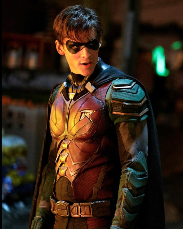 Titans (DCUniverse-September 6, 2019) Season 2-an American web television series created by Akiva Goldsman, Geoff Johns, and Greg Berlanti. The series is based on the DC Comics Teen Titans and follows a group of young superheroes who come together to fight evil. Stars: Brenton Thwaites, Anna Diop, Ryan Potter, Iain Glen, Curran Walters.