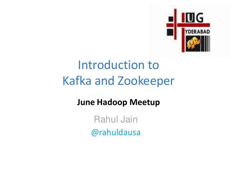 Kafka and Zookeper
