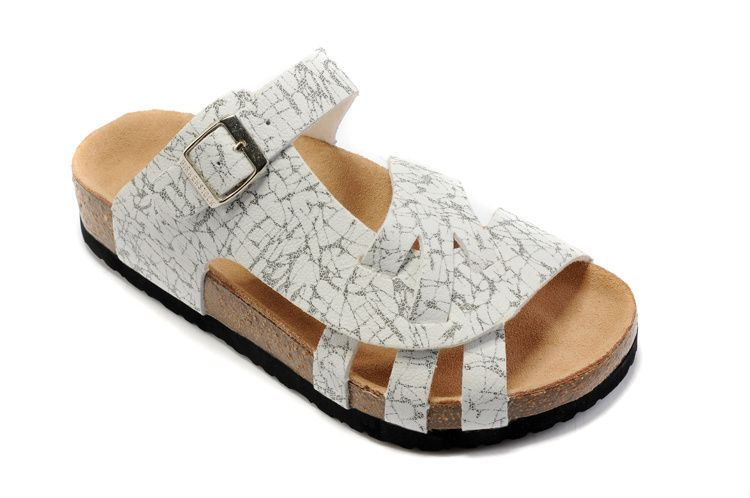 Birkenstock Pisa Women S Sandals Black And White Striped