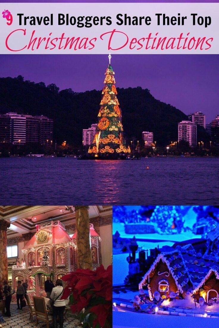 9 travel bloggers share their top christmas destinations