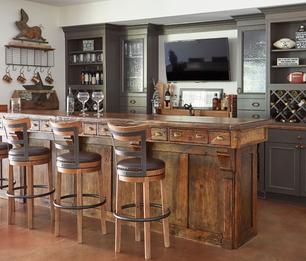 Interior Design Ideas Home Bar: 16 Ravishing Farmhouse Home Bar Interiors You Must See In