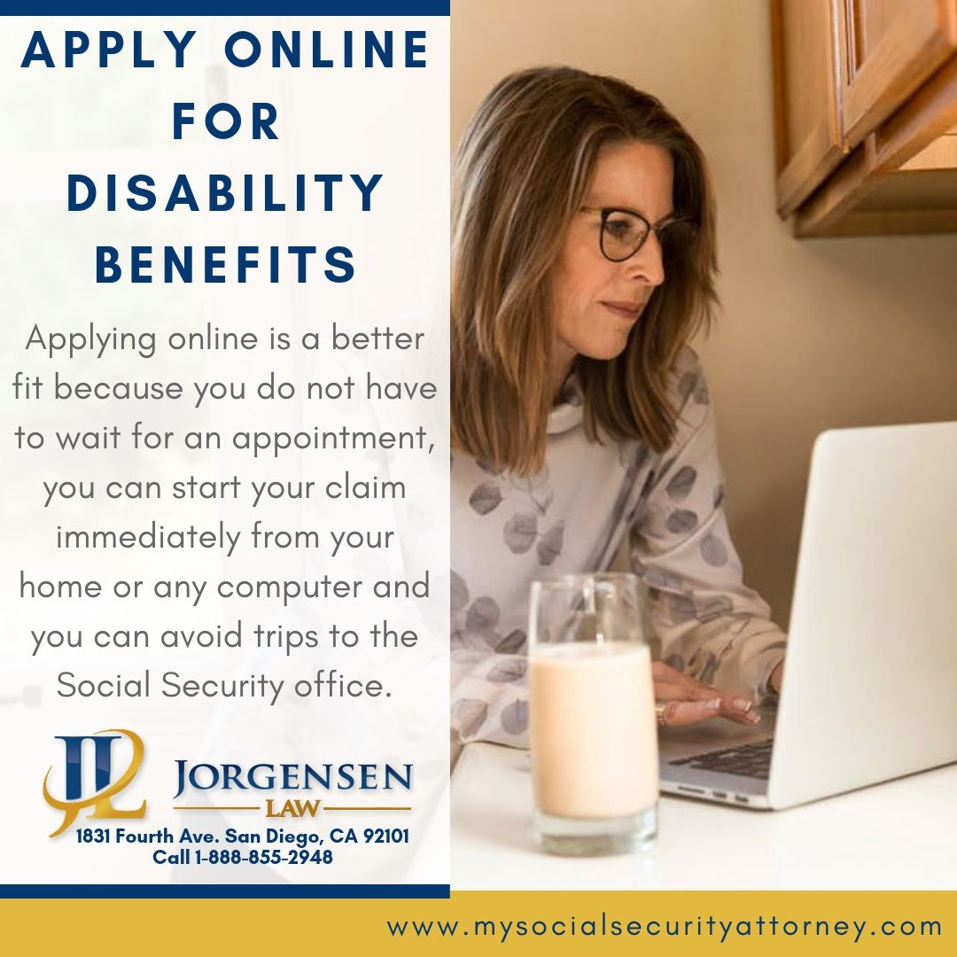 Apply online for disability benefits disability benefit