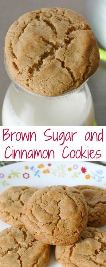 Brown Sugar and Cinnamon Cookies Recipe