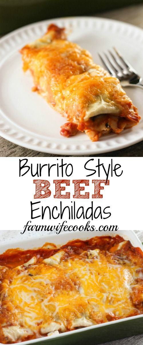 An easy burrito style beef enchilada recipe that will have everyone an easy burrito style beef enchilada recipe that will have everyone you make them for asking forumfinder Gallery