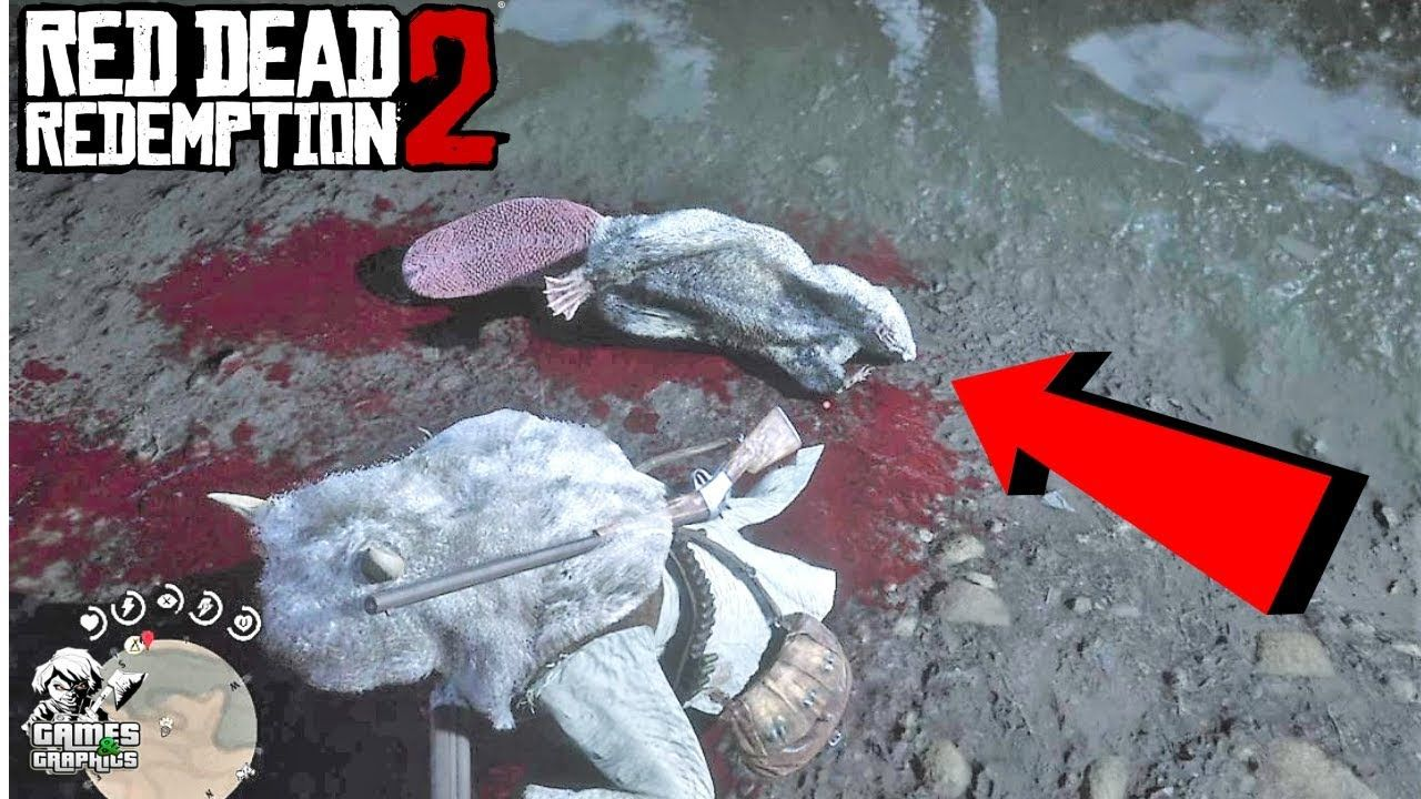 "Legendary Animal ""Beaver"" Location (RDR2) Red Dead"