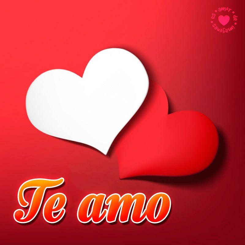 Corazones Con Frase Te Amo Amor De Imagenes Pinterest Love