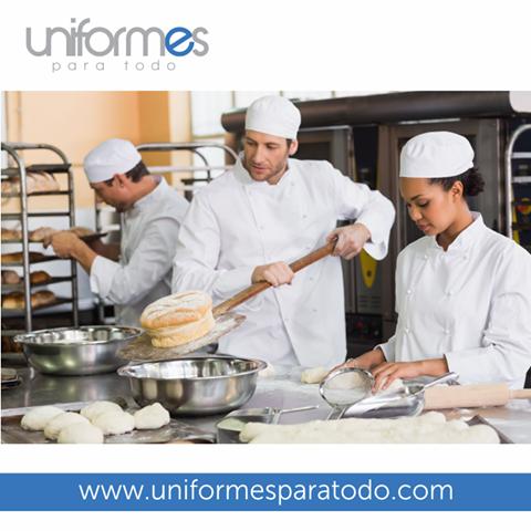 75d15454039 ¡Modernos, cómodos y seguros; así son nuestros uniformes para tus labores  diarias! # Uniformes # Colombia # Panaderia # Panaderos