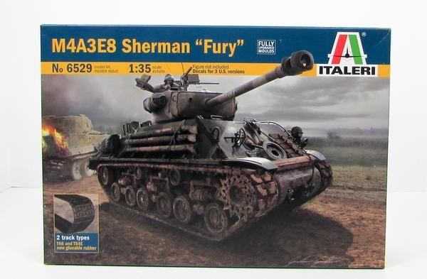 1:35 Italeri 6529 M4A3E8 Sherman /'Fury/'