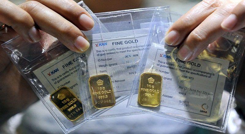 Selain itu Antam juga mengeluarkan emas batangan kemasan