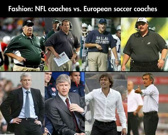 Difference in coaches