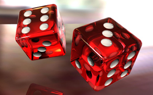 Игра в кости в казино