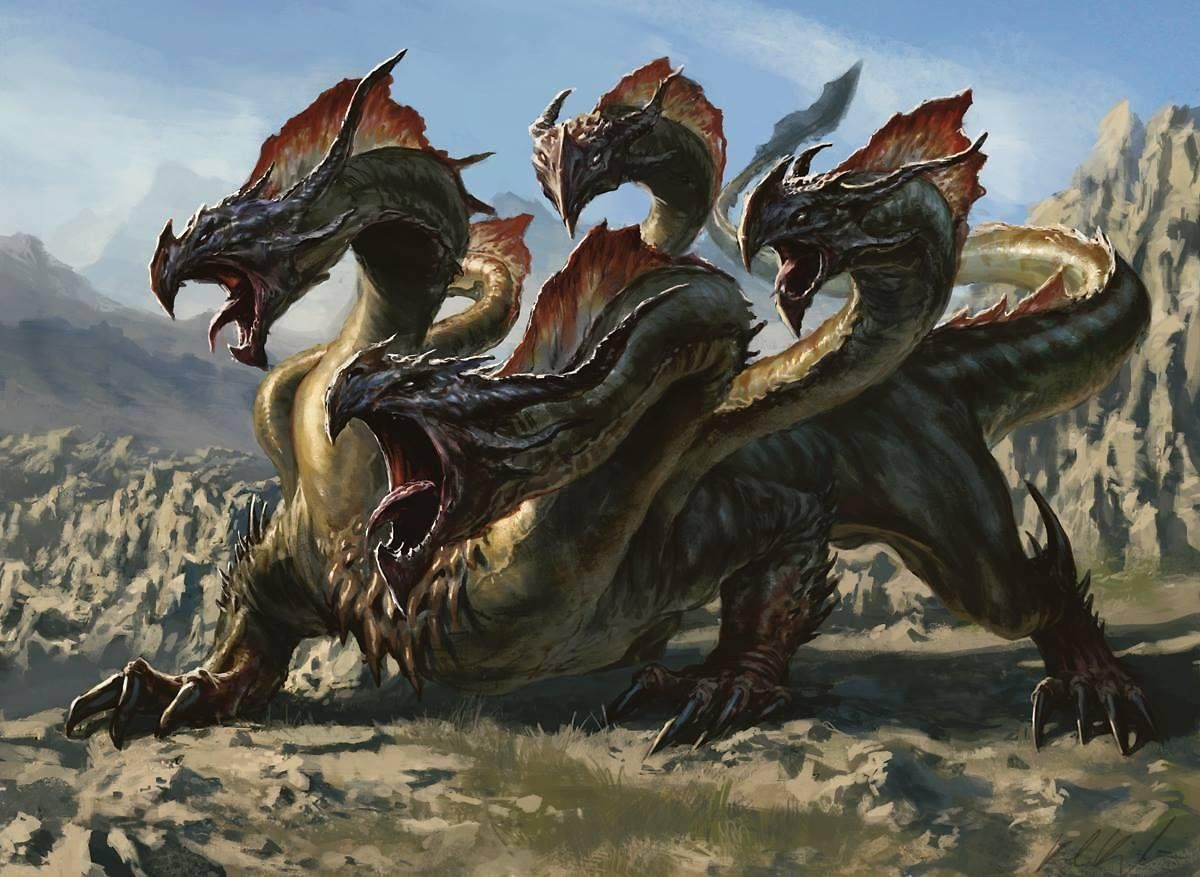 hydra - Google Search | Hydras | Pinterest | Dragons ... Greek Mythology Hydra