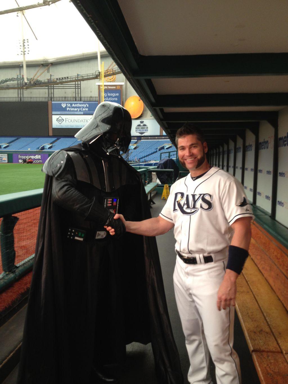 Darth Vader and Luke...Scott!