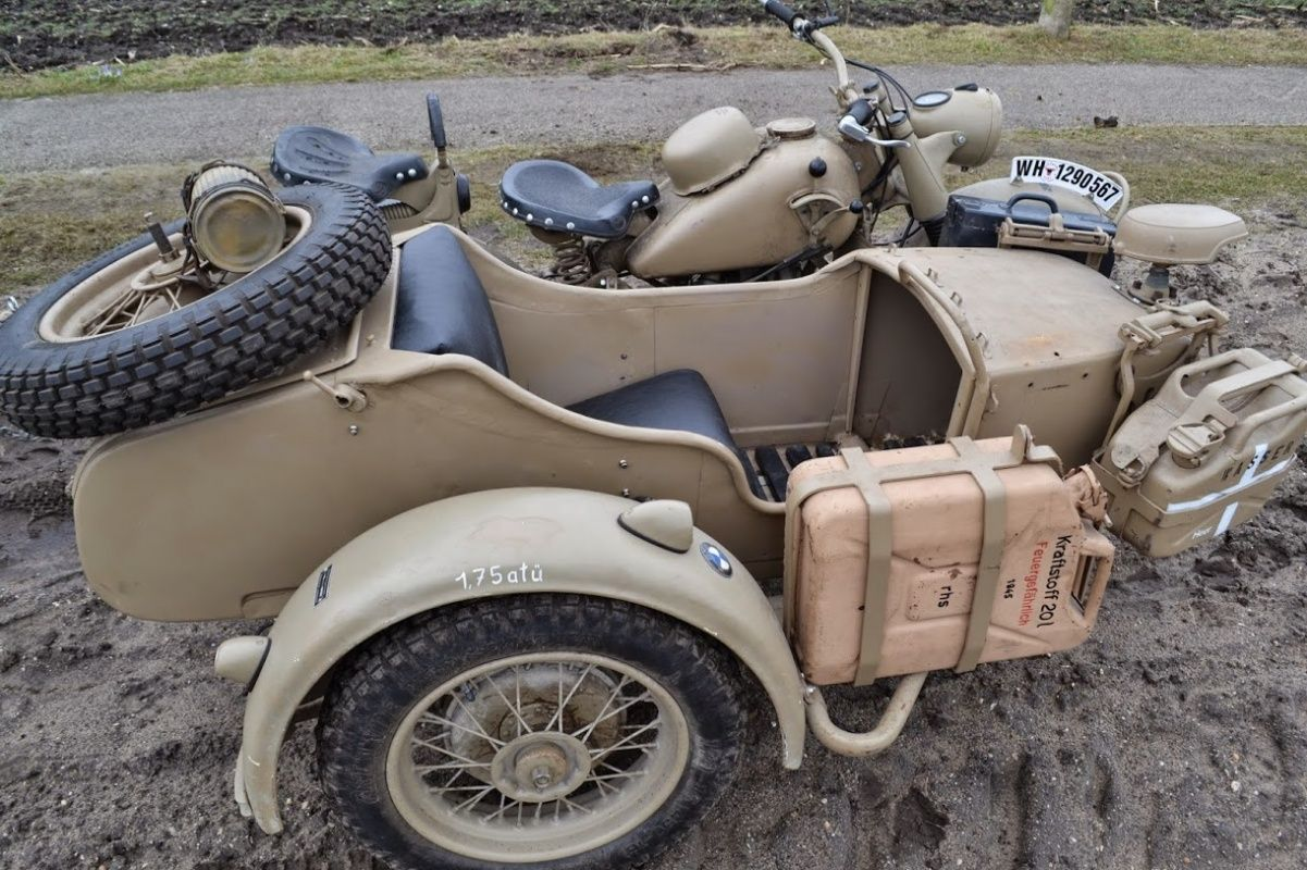 1943 Bmw Motorcycles Sidecar Combo R75 Ww2 Motorcycle Classic Driver Market