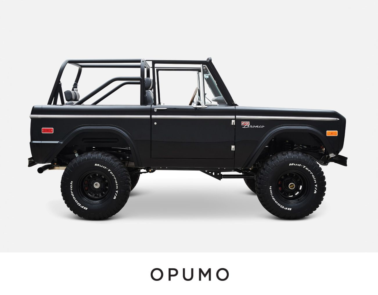 Classic Ford Broncos Vail Proves That Black Is Always Better