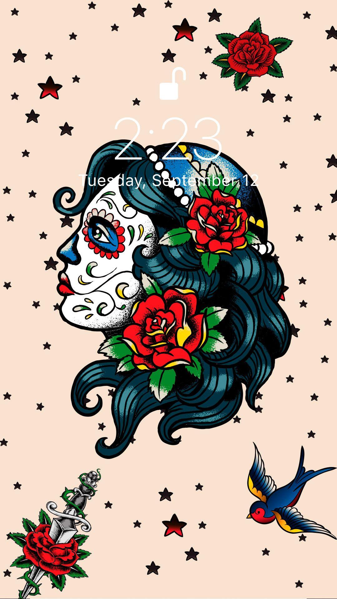 Tattoo Old School Tattoo Tattoo Background Wallpaper Tattoo wallpaper 4k iphone