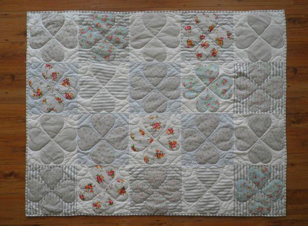 Quilts & Patchwork - Quilt - ein Designerstück von Mrs-Honeyfoot bei DaWanda