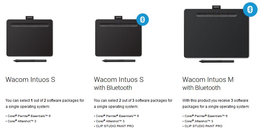 اینتوس جدید اسمال +CTL-4100/S+intuos | vacom | Wacom intuos