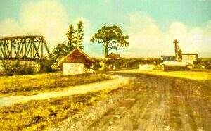 Site Historique du Poste de Traite de la rivière Metabetchouan (Compagnie de la Baie d'Hudson) a Desbiens
