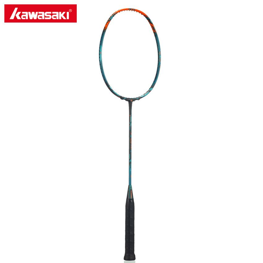 Kawasaki Brand Badminton Rackets Force F9 Offensive Type 46t Carbon Racket Racquet Box Frame For Professional Player Affil Badminton Racket Racquets Badminton