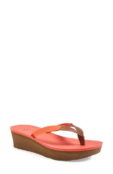 be6e850f373 UGG® Australia 'Ruby' Wedge Thong Sandal (Women) available at ...