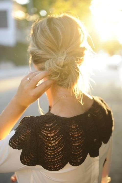 beach hair, girly cardi