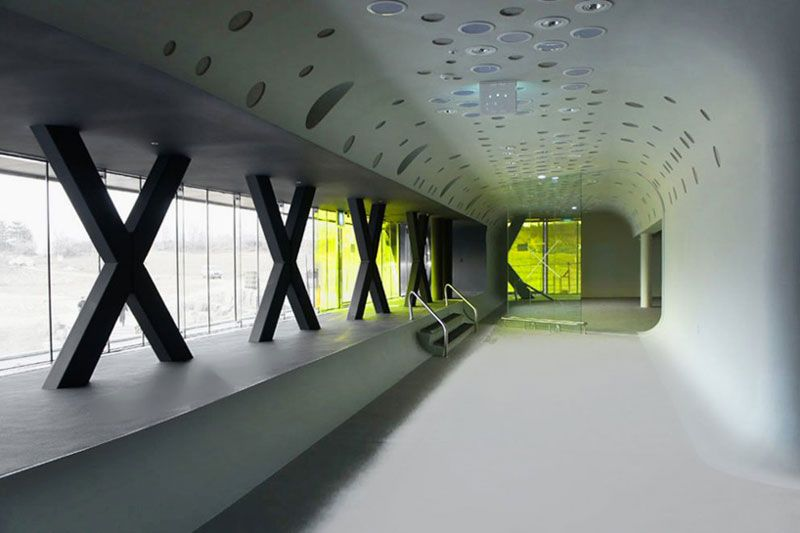 Jeongok Museum in South Korea – Prehistory Museum by X-TU Architects ...