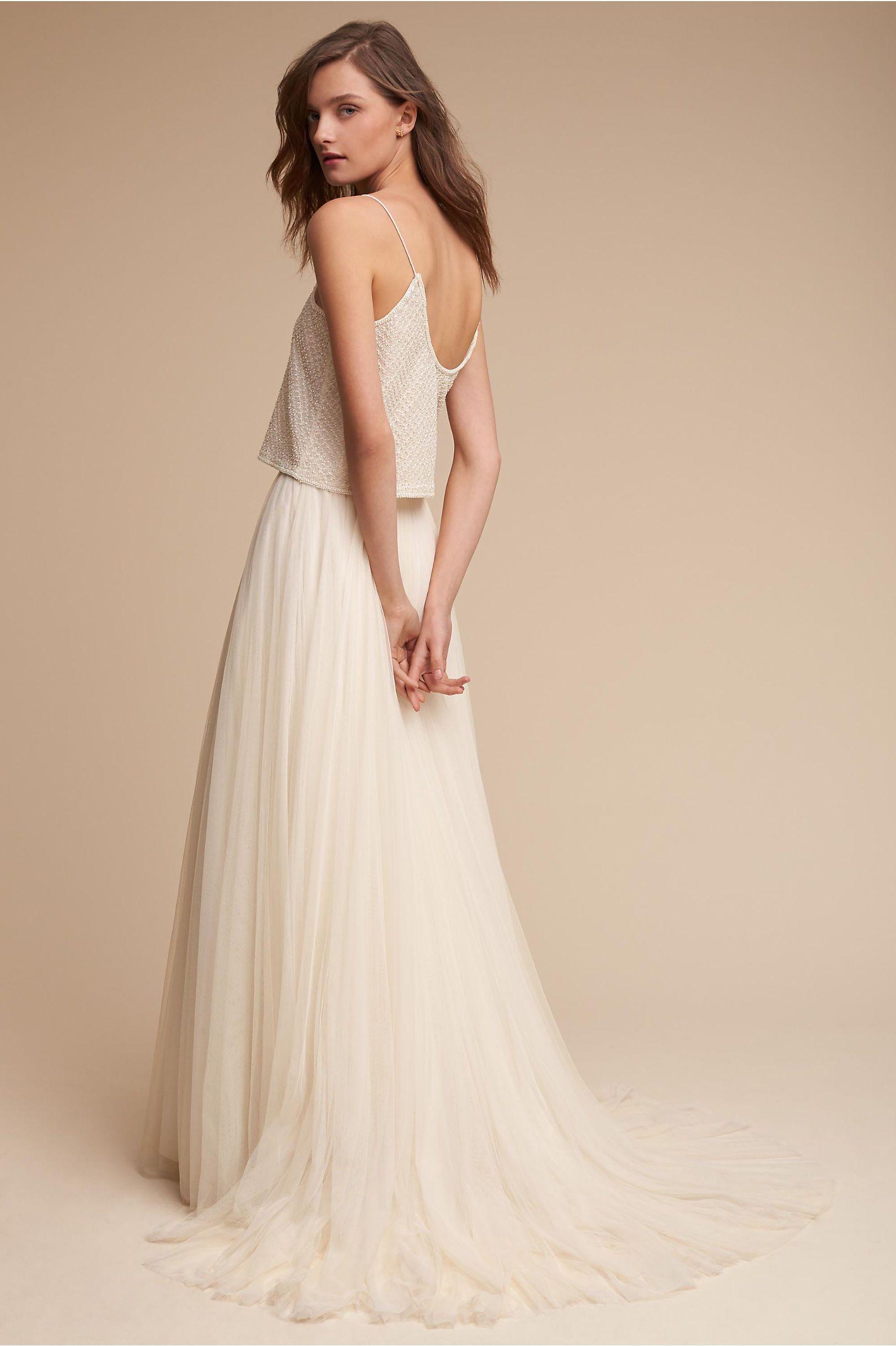 Bhldn cailey top u amora skirt in bride wedding dresses bhldn