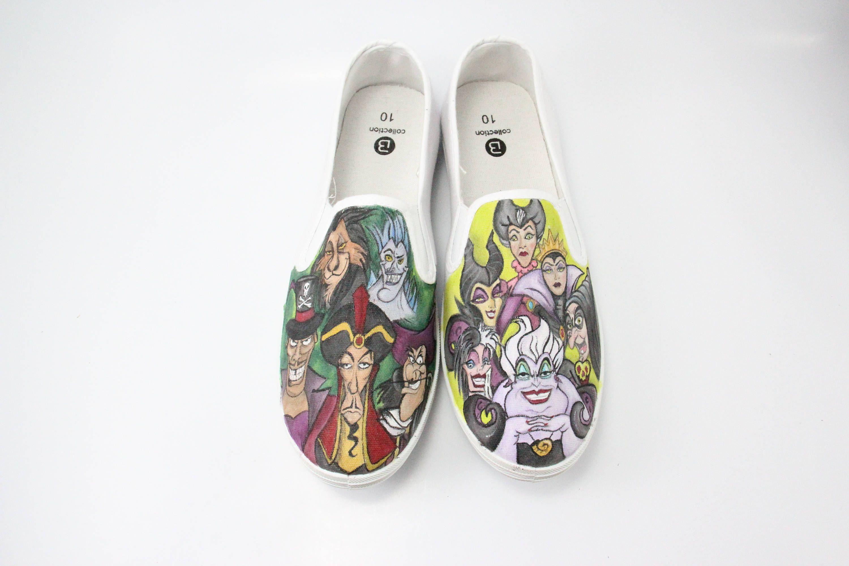 74fc5dfa9c1 Custom Painted Canvas Shoes
