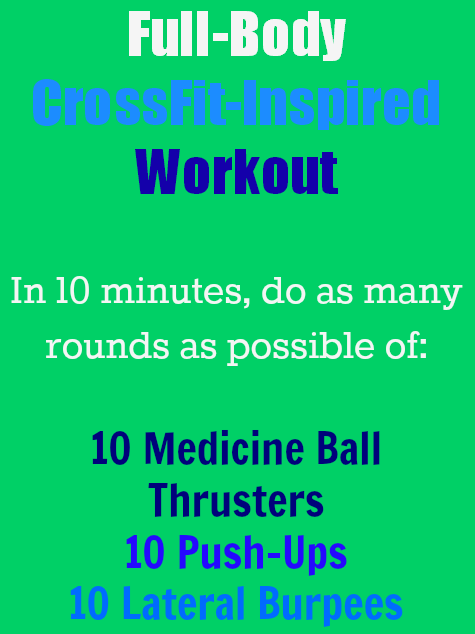 #cardio  #fitness | Health.com #calories #with  Burn calories with this Full-Body CrossFit-Inspired...