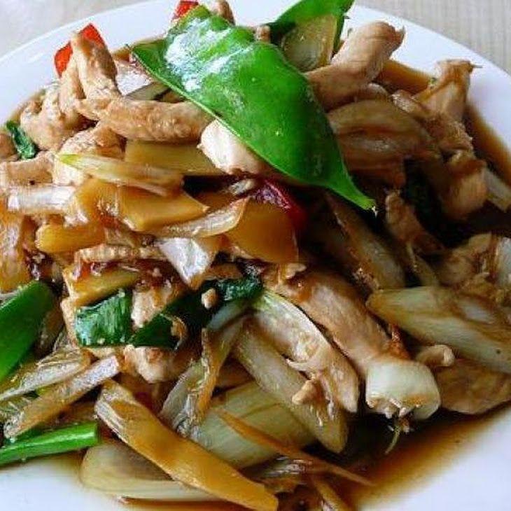 Thai ginger chicken gai pad king receta recetas forumfinder Images