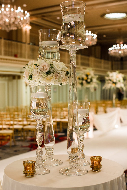 Sarah & Samir The Drake Hotel Chicago Wedding table