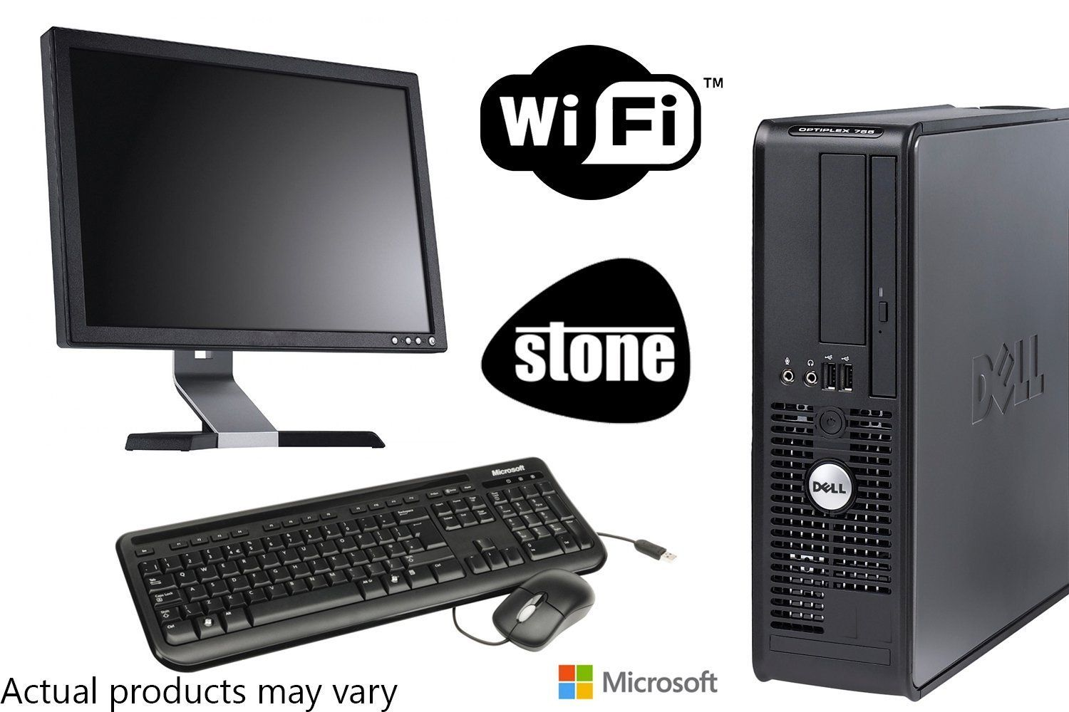 Newly Refurbished Encore Dell Dual Core PC Bundle with