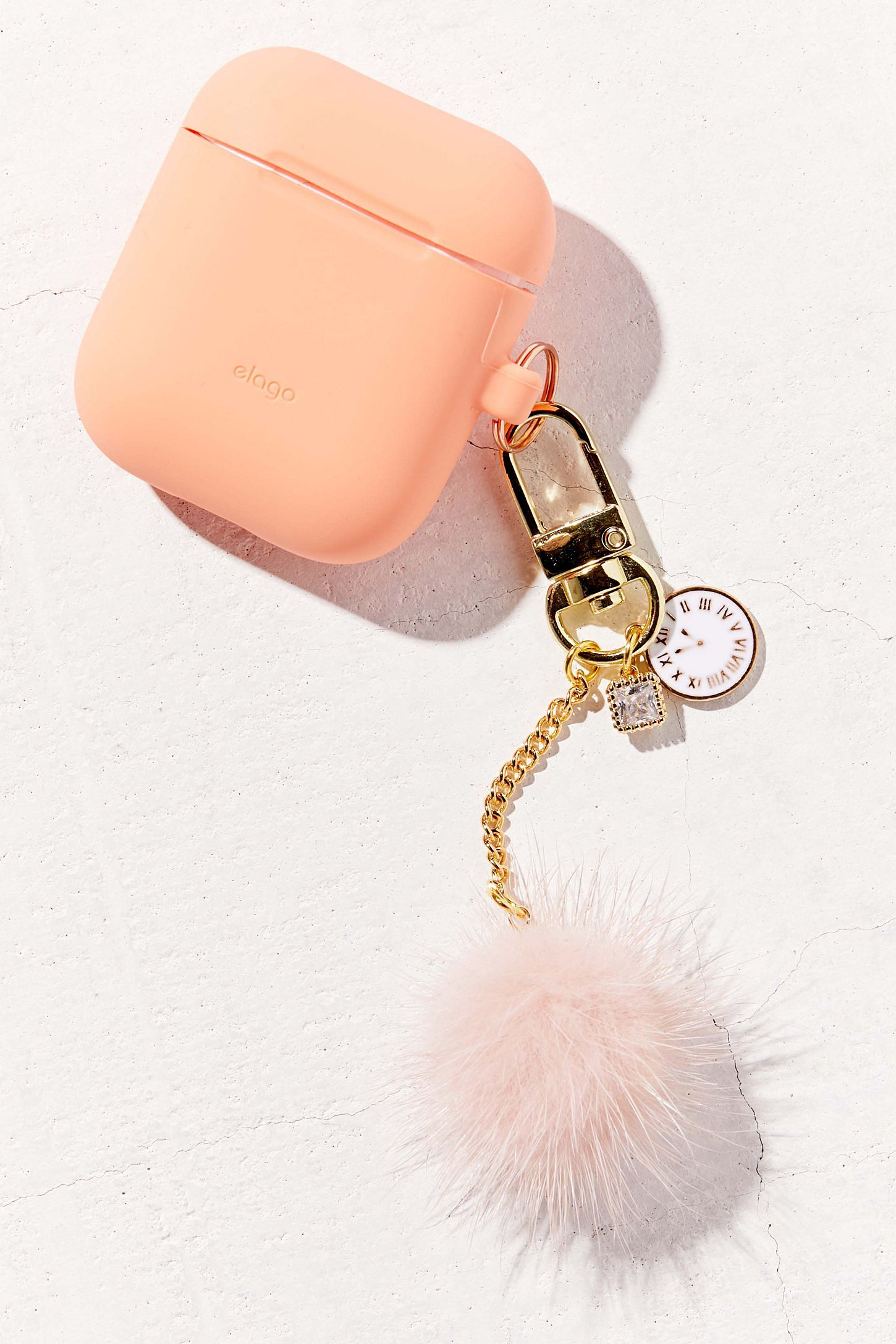 22adf527f13 elago AirPods Keychain | Urban Outfitters Rose Gold Aesthetic, Key  Decorations, Iphone Accessories,