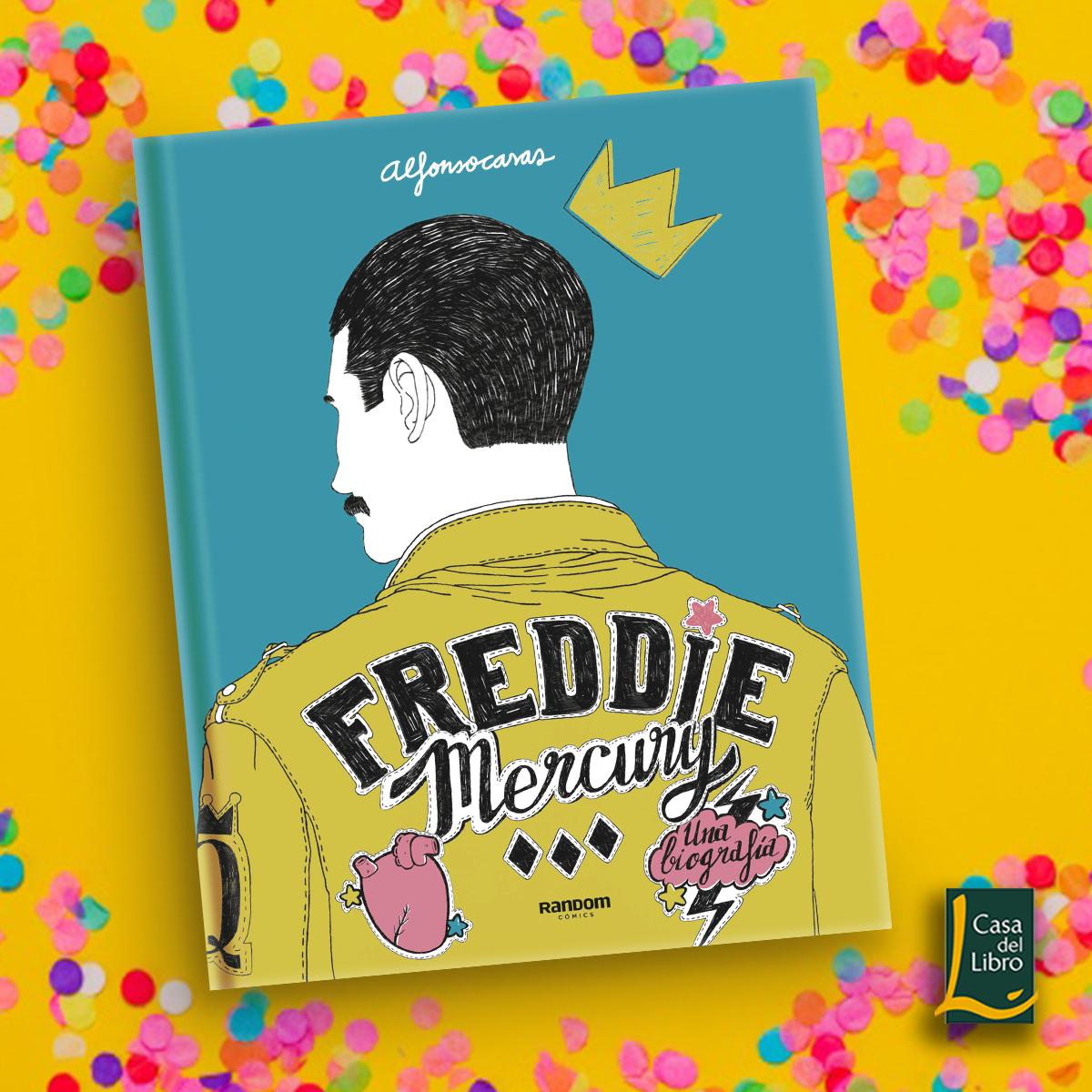 Quién Es Freddie Mercury Si Eres Fan De Queen O Ya Viste Bohemian Rhapsody Y Quieres Saber Más De Este Icónico C Libros Perfectos Portadas De Libros Mercury