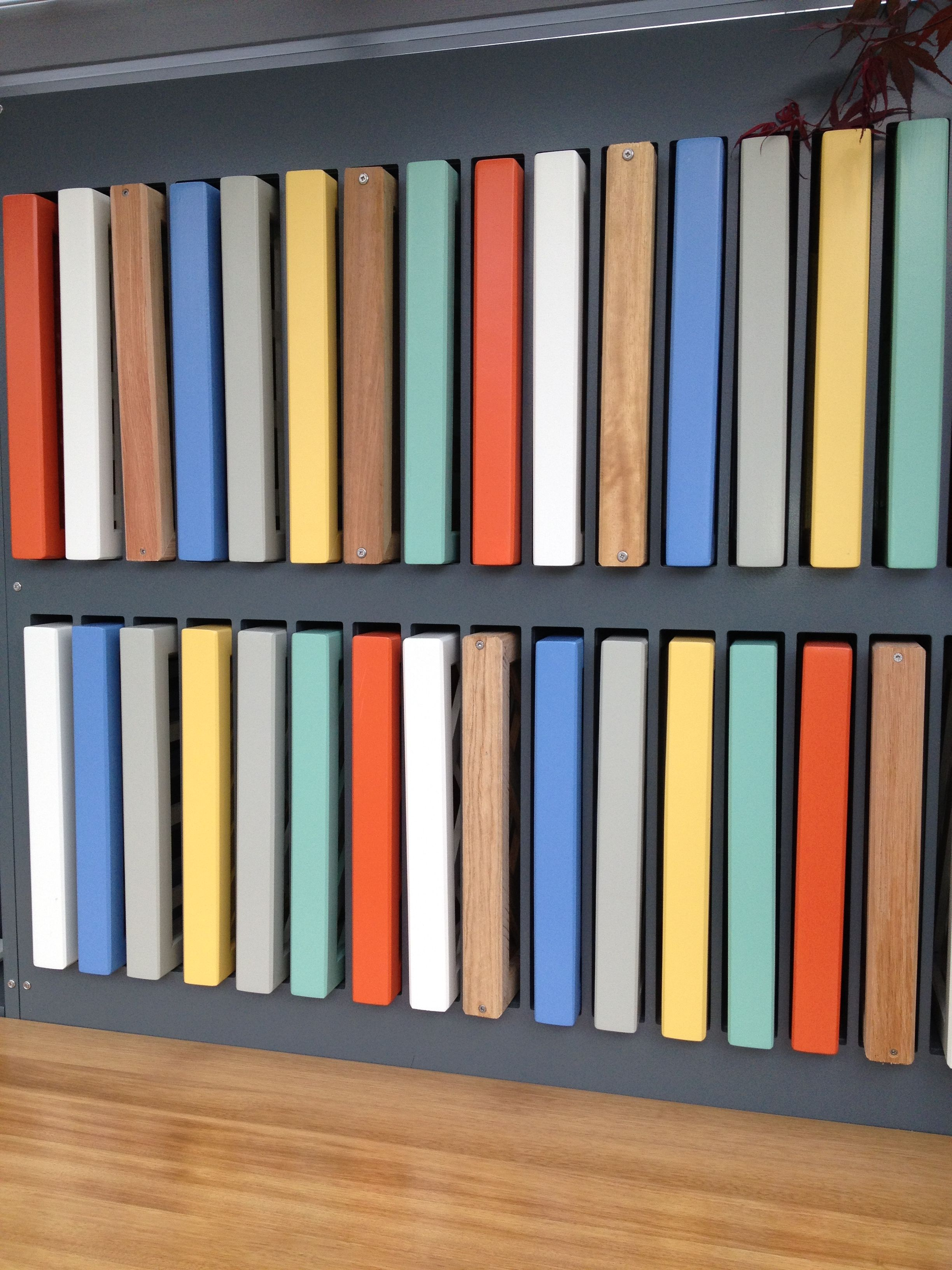 Sample Panels in a range of paint colours