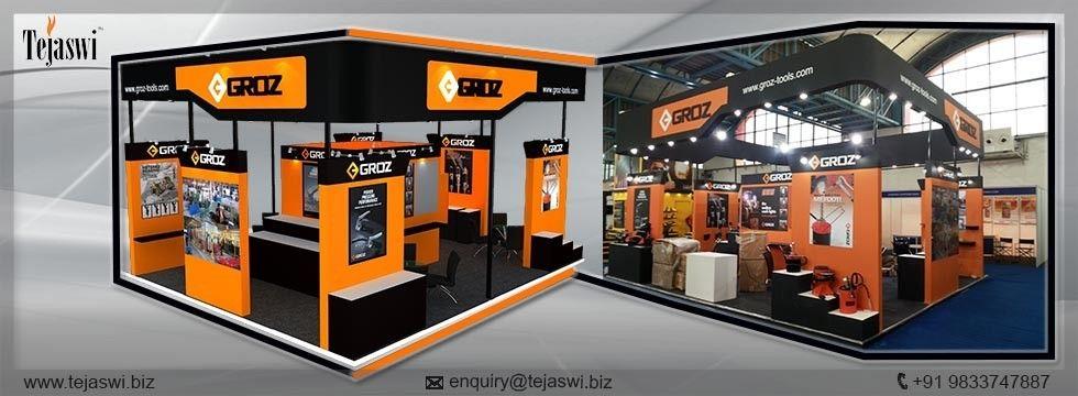 Hardware Exhibition Stall : Exhibition stall designer exhibit fabrication portable
