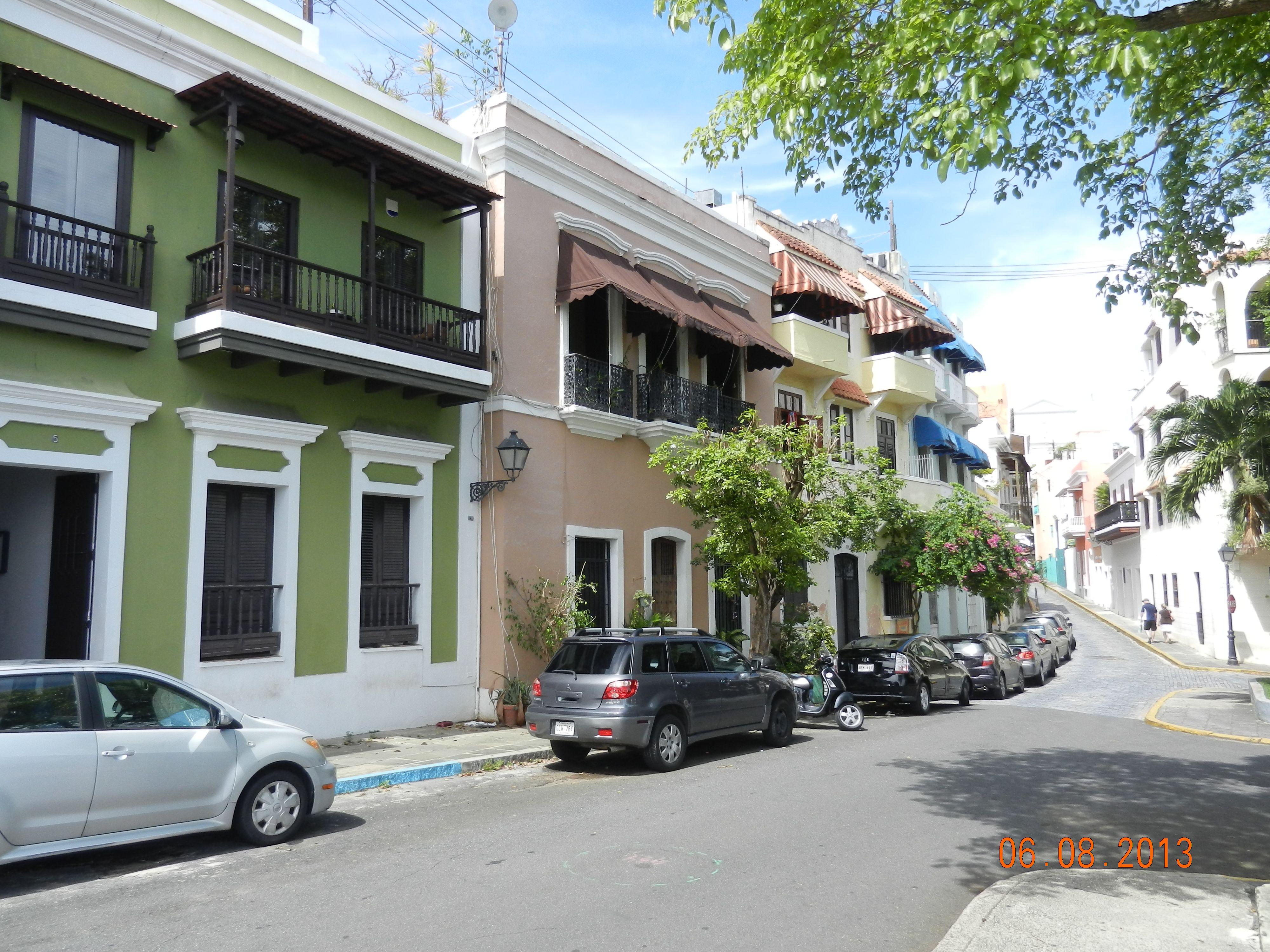 Calles del Viejo San Juan Street view, San, San juan