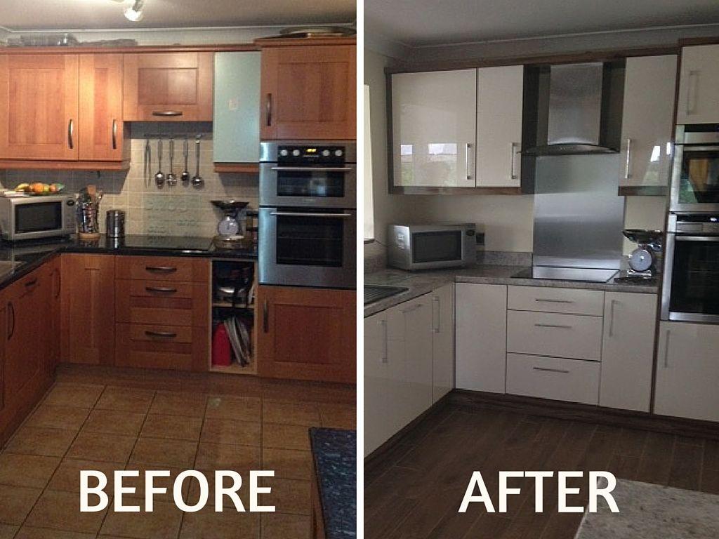 changing door handles on kitchen cabinets